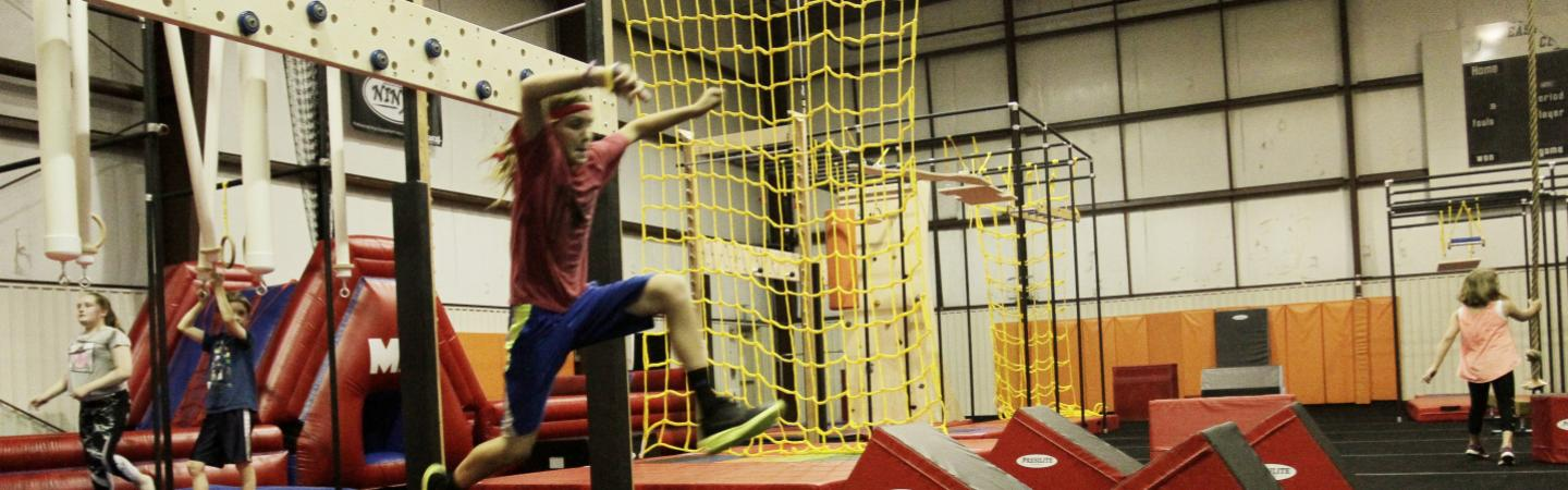 Ultimate Ninja Obstacle Course | YMCA of the North Shore