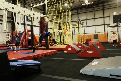 Ultimate Ninja Obstacle Course