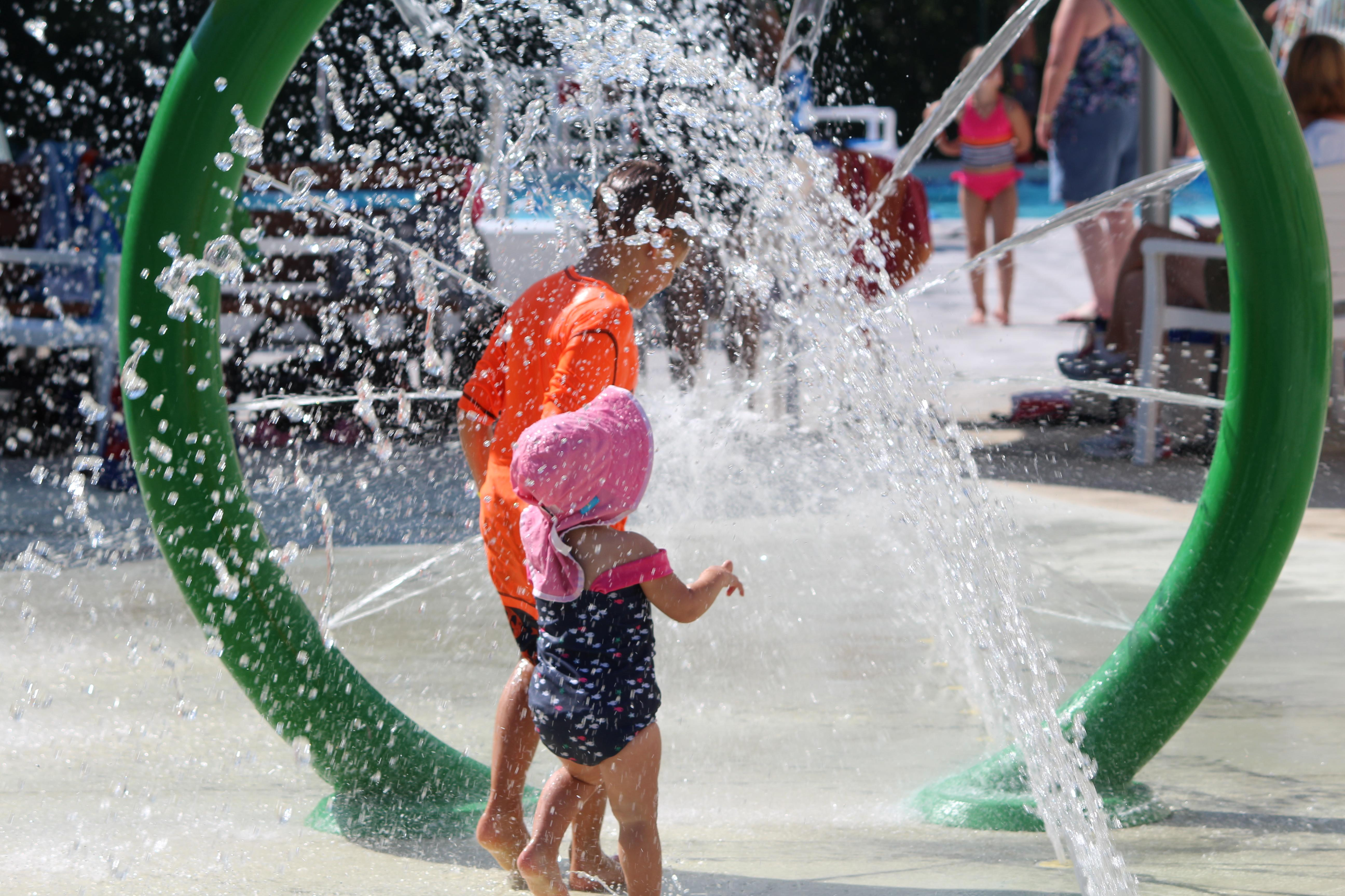 Ipswich outdoor waterpark and pool