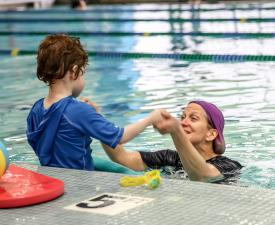 youth swim lessons, swim lesson, swimming