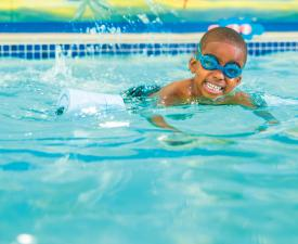 Youth Swim at the YMCA