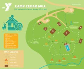 Camp Cedar Mill Map