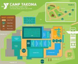 Camp Takoma Map
