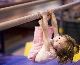 Preschool Gymnastics at the YMCA