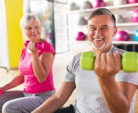 Ages 50 plus Fitness