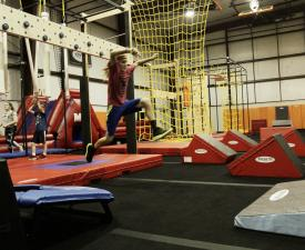 Open Ninja Obstacle Course