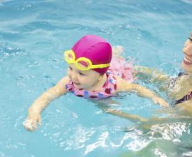 Preschool Swim at the YMCA