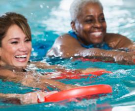 Adult Swimming at the YMCA